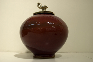 untitled red pot