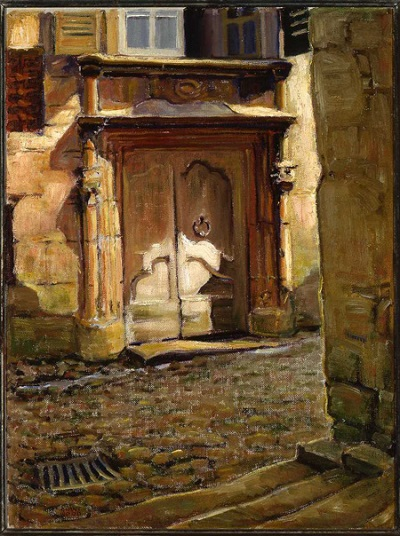 The Doorway, Perigueux (Door at the Foot of the Stair)