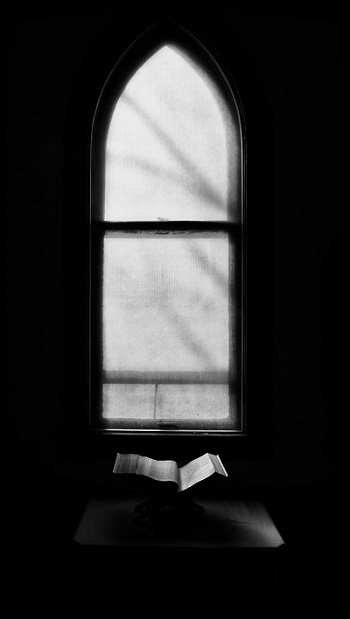 "Bible and Window</i>, from the project ""Places of Spirit and Light""<i>"