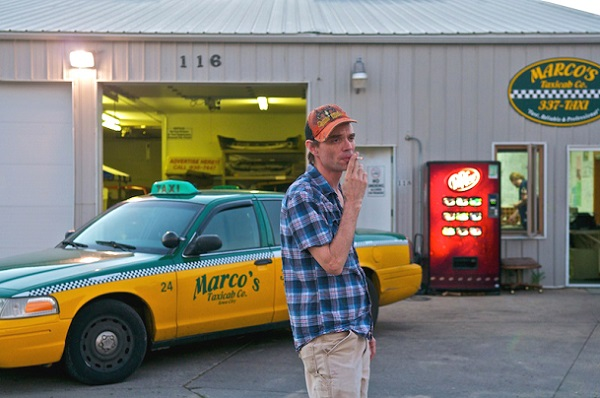 Sean Preciado Genell, Marco's Taxicab, Iowa City, Iowa</i>, from the project <i>Lost in the Midwest